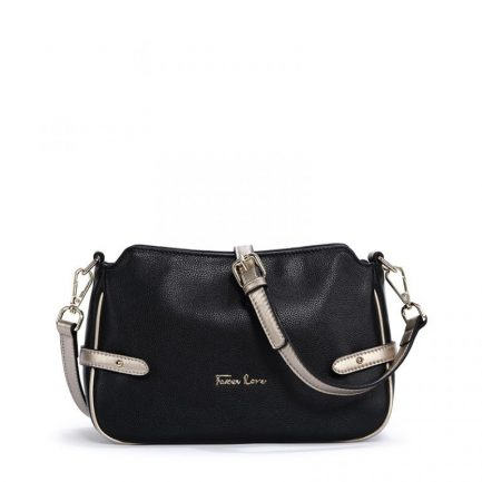 black foxer leather crossbody bag