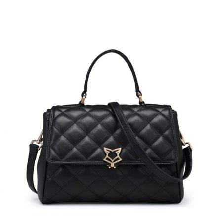 black foxer messenger bag