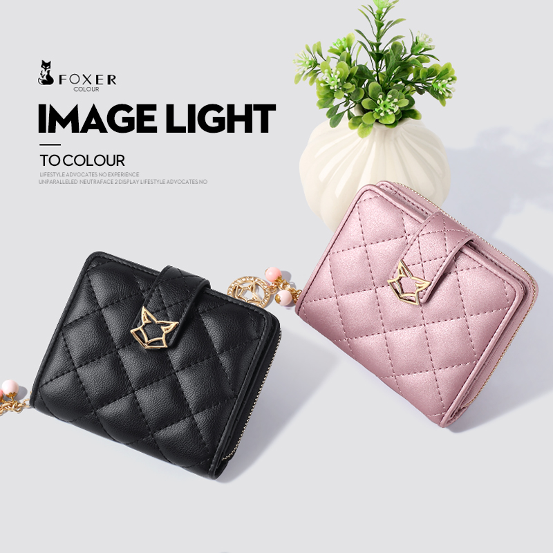 Women Leather Short Wallet High Quality 4 color