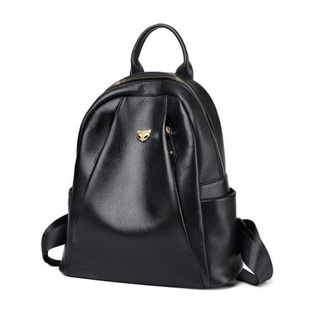 foxer preppy leather backpack