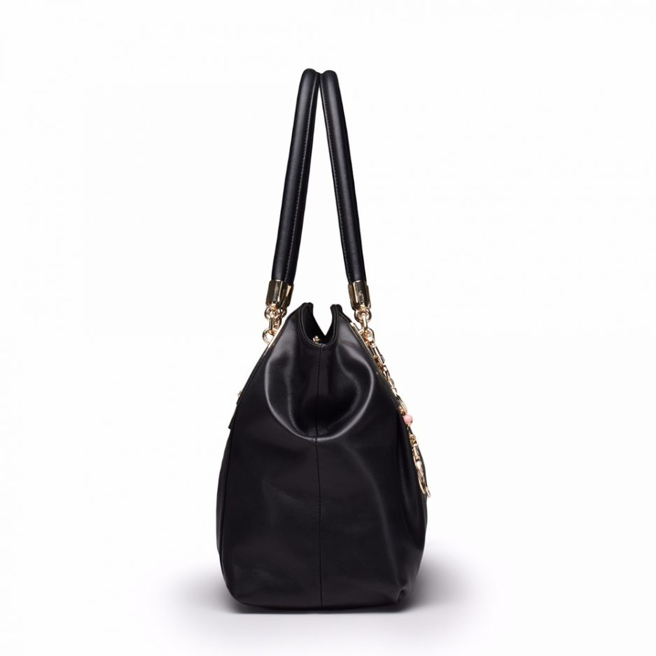 Foxer Guetty Brand Women Genuine Leather Bag Handbags 2 colors