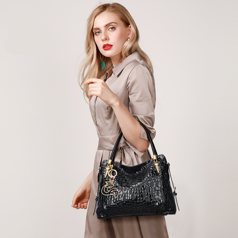 Foxer Shelly Genuine Leather Shoulder Bag Women