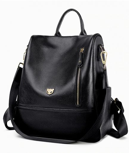 Foxer Backy Softback Backpack Women Genuine Leather