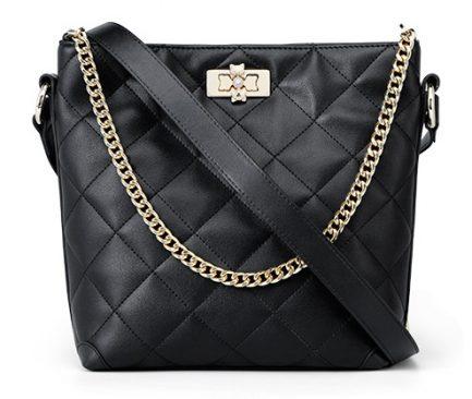 black foxer bag leather crossbody bag
