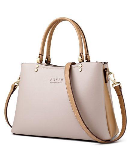 FOXER Elegy Women Leather Handbag