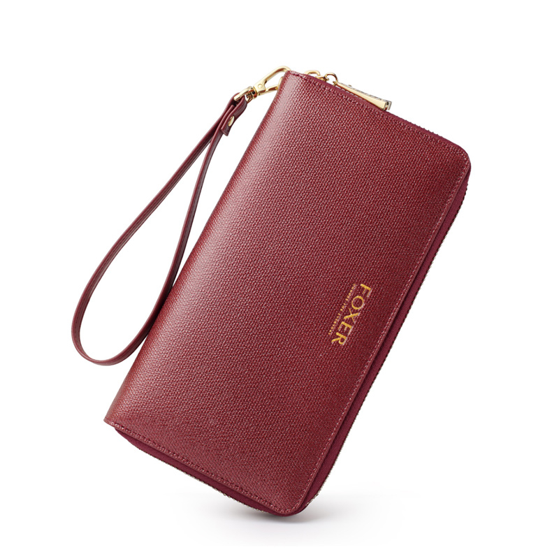 FOXER Karly Money Purse Split Leather for Women