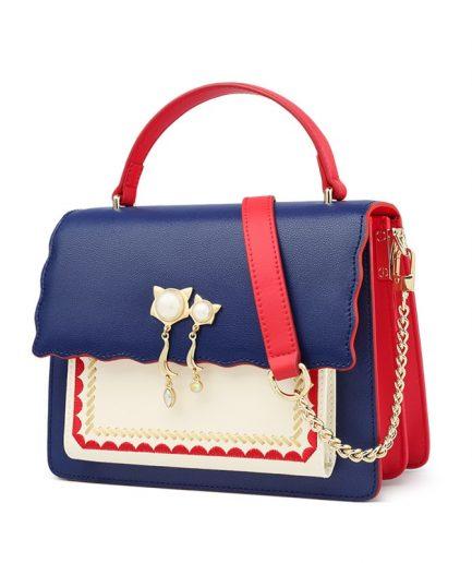 FOXER Gelly Leather Messenger Bag Women