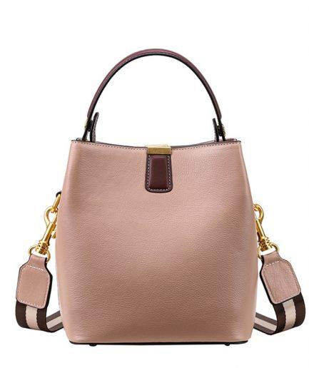 FOXER Bucky Women Leather Messenger Bag