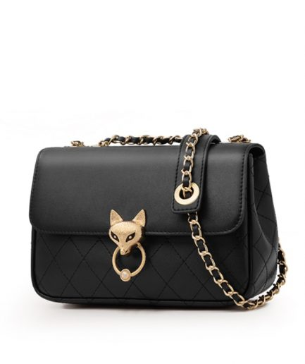 Foxer Streety Fashion Women Leather Crossbody Bag