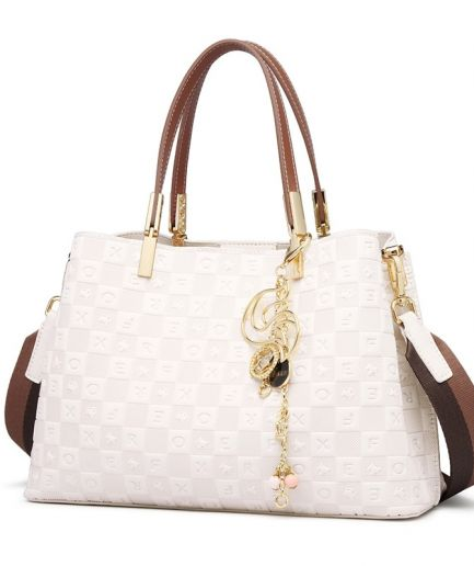 Foxer Laffy Women Handle Bag Elegant Office Ladies