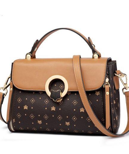 Foxer Pety Women's Bag PVC Leather Vintage Totes