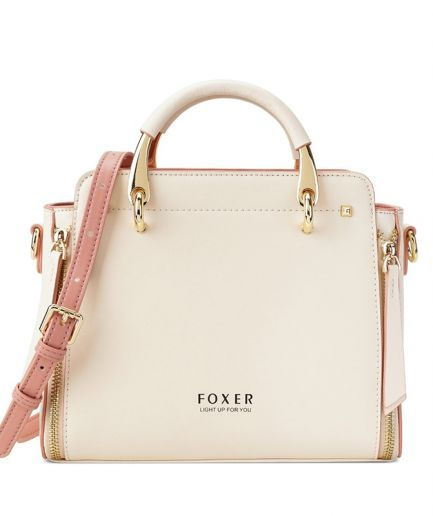 Foxer Camilly Split Leather Handbag Women