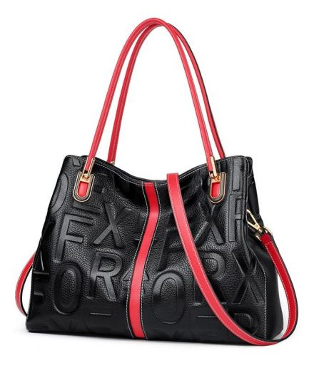 Foxer Russy Genuine Leather Top Handle Handbag Female