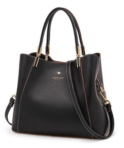 Foxer Dolphy Women Big Tote Genuine Leather