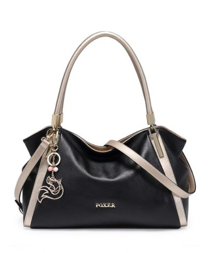 Foxer Picky Women Genuine Leather Handbag
