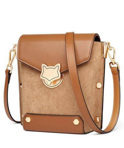 Foxer Majory Leather Crossbody Bag