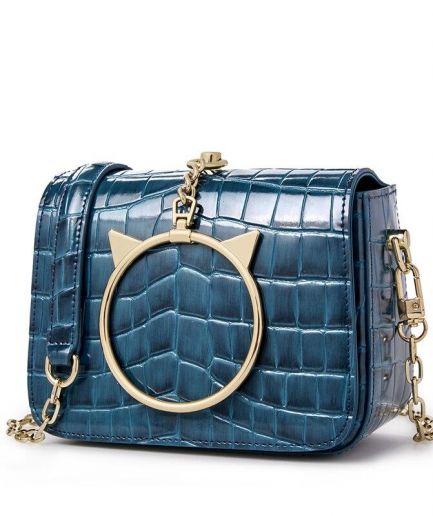 Foxer Stargazy Mini Handbag Cow Leather Women