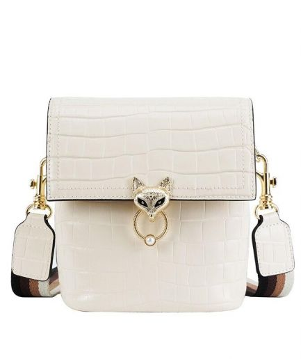 Foxer Kigy Women Leather Crossbody Bag