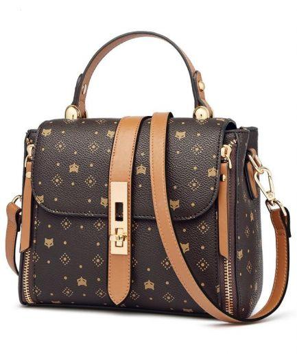 Foxy Dondy Women PVC Leather Shoulder Bag
